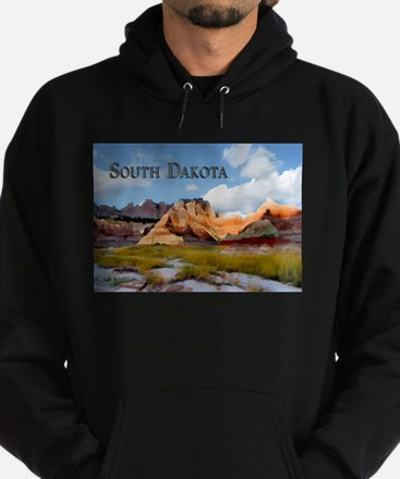 Mountains Sky in the Badlands National Park Sout H