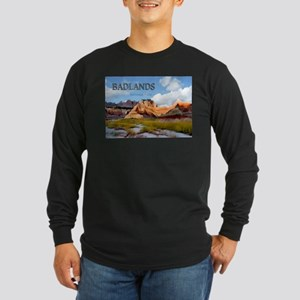 Mountains Sky in the Badlands National Park copy L