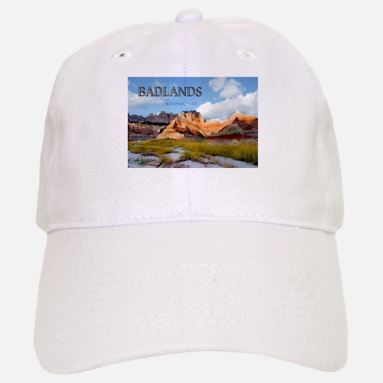 Mountains Sky in the Badlands National Park copy B