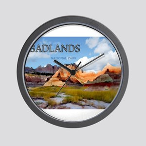 Mountains Sky in the Badlands National Park copy W