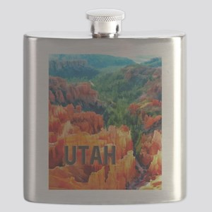 Hoodoos in Bryce Canyon National Park UTAH Flask