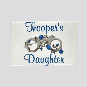 Trooper's Daughter Rectangle Magnet