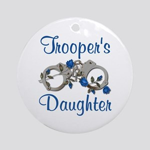 Trooper's Daughter Ornament (Round)