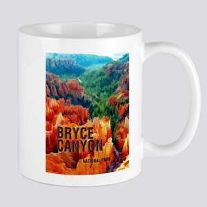 Hoodoos in Bryce Canyon National Park Mugs