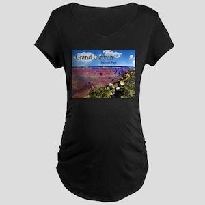 Grand Canyon NAtional Park Poster Maternity T-Shir