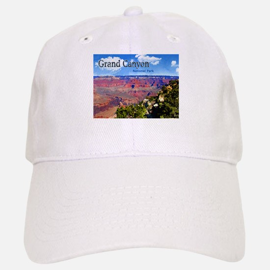 Grand Canyon NAtional Park Poster Baseball Baseball Baseball Cap