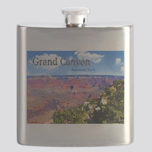 Grand Canyon NAtional Park Poster Flask