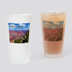 Grand Canyon NAtional Park Poster Drinking Glass