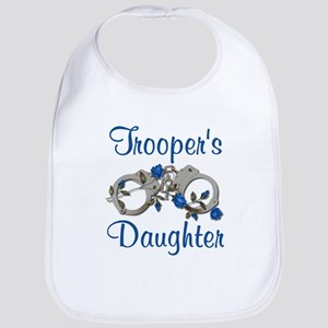 Trooper's Daughter Bib