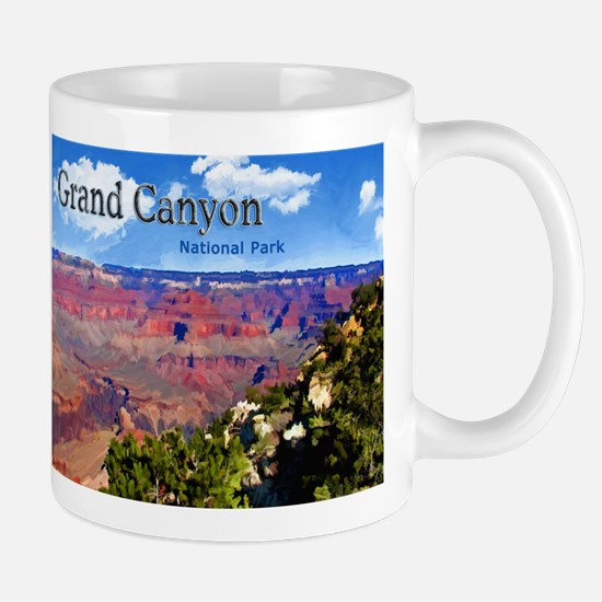 Grand Canyon NAtional Park Poster Mugs