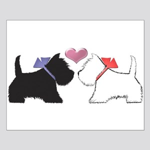 Westie Dog Art Small Poster