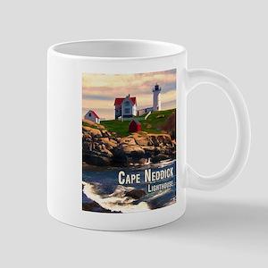 Cape Neddick Lighthouse at Sunset Mugs