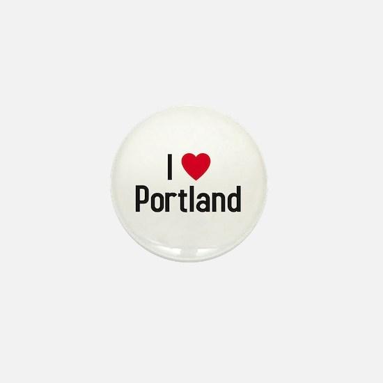 Cute Love portland Mini Button