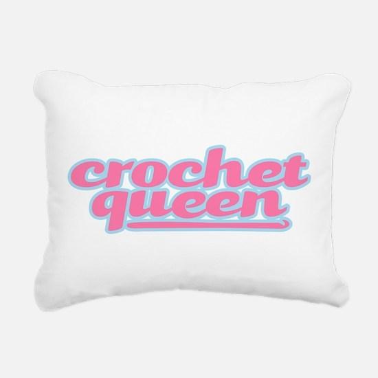 They Call Her the Crochet Queen Rectangular Canvas