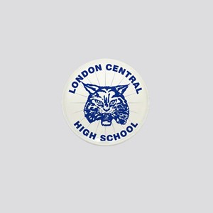 LCHS Bobcat with Round Text Mini Button