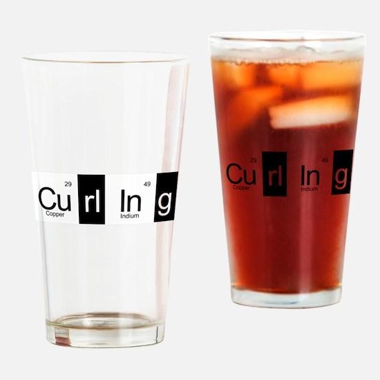 Curling Elementally Drinking Glass