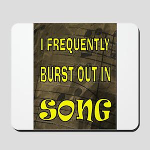 SONG BURST Mousepad
