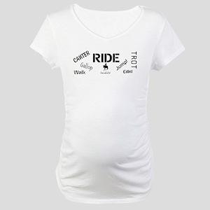 Horse Theme Design #70000 Maternity T-Shirt