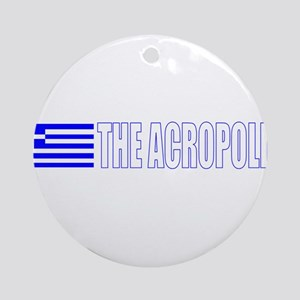 The Acropolis Ornament (Round)