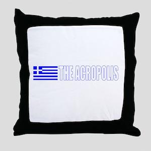 The Acropolis Throw Pillow