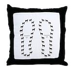 Horse Design #96000 Throw Pillow
