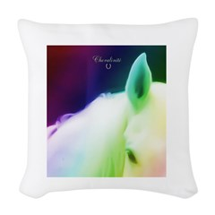 Horse Theme #11356 Woven Throw Pillow