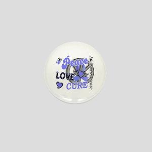 Peace Love Cure 2 Addison's Mini Button