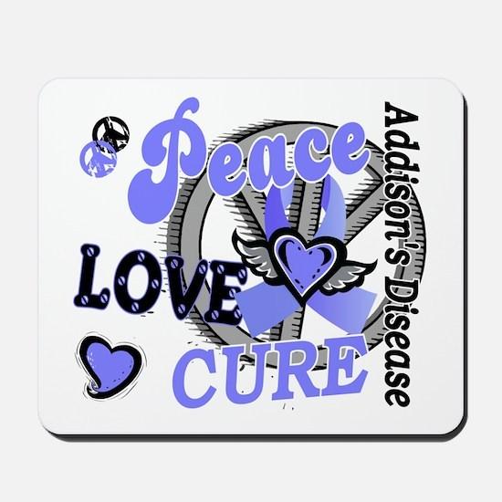 Peace Love Cure 2 Addison's Mousepad