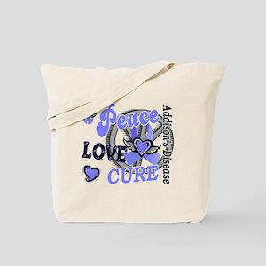 Peace Love Cure 2 Addison's Tote Bag