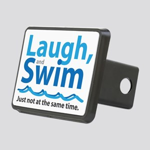 Laugh and Swim Rectangular Hitch Cover