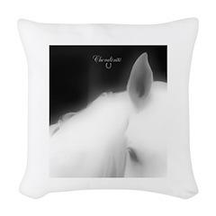 Horse Theme Design #40010 Woven Throw Pillow