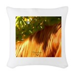 Horse Theme Design #40020 Woven Throw Pillow