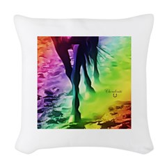 Horse Theme Design #40030 Woven Throw Pillow