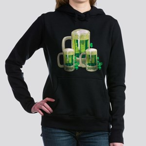 Green Beer Hooded Sweatshirt