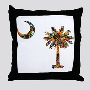 C and T 7 Throw Pillow