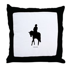 Horse Theme Design #71000 Throw Pillow