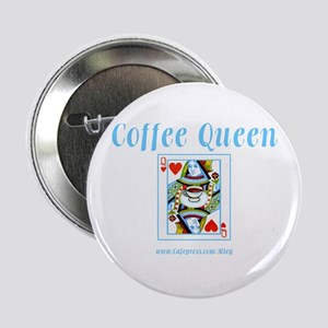 Coffee Queen Button