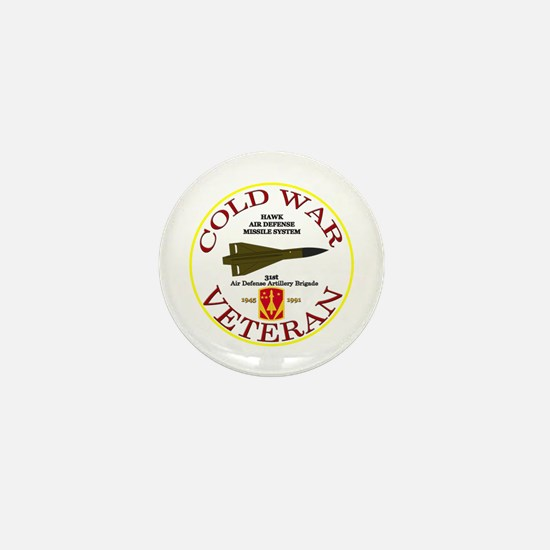 Cold War Hawk 31st ADA Mini Button