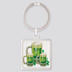 Green Beer Keychains