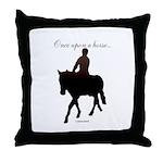 Horse Theme Design #56000 Throw Pillow