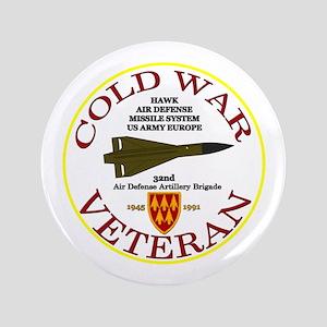 """Cold War Hawk Europe 3.5"""" Button"""