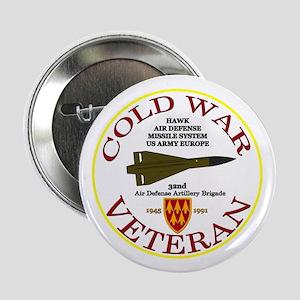 """Cold War Hawk Europe 2.25"""" Button"""