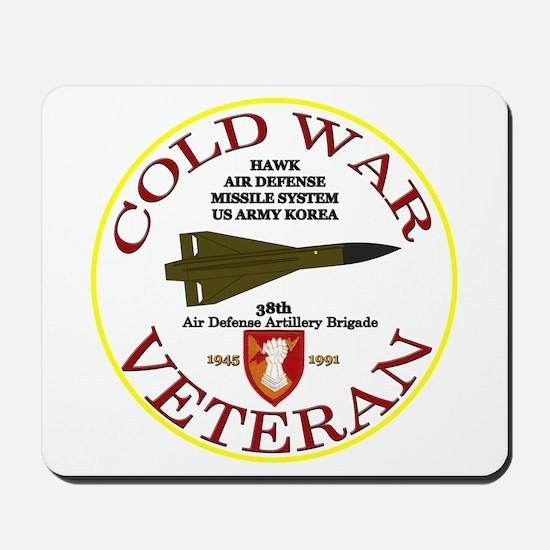 Cold War Hawk Korea Mousepad