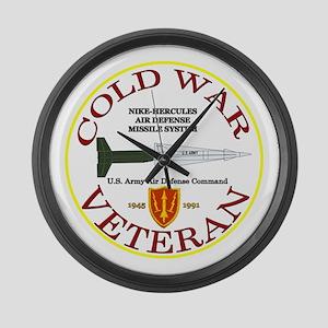 Cold War Nike Hercules AADCOM Large Wall Clock