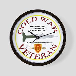 Cold War Nike Hercules AADCOM Wall Clock