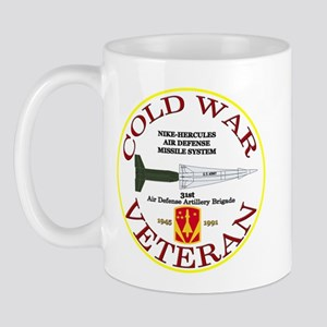 Cold War Nike Hercules 31st ADA Mug