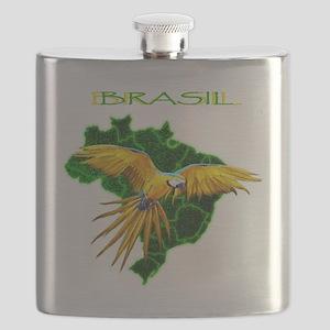 Brasil - Arara Flask