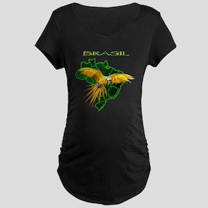 Brasil - Arara Maternity Dark T-Shirt