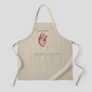 Anatomically Correct Heart Apron