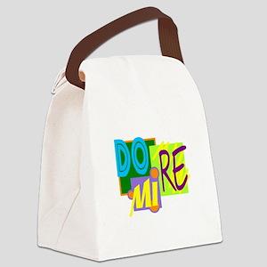 DO RE MI/kids Canvas Lunch Bag